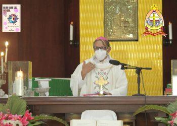Misa Hari Minggu, 5 September 2021, pkl 10.00 WITA, langsung dari Gereja Paroki Santa Maria Assumpta Kupang. Misa dipimpin Bapa Uskup Agung Kupang, Mgr Petrus Turang
